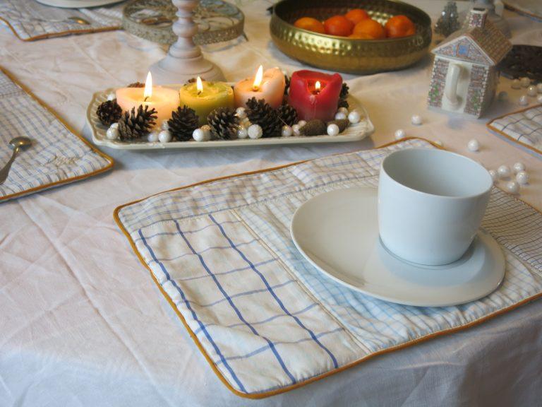 Set de table chemise d'homme Pimprelys 4