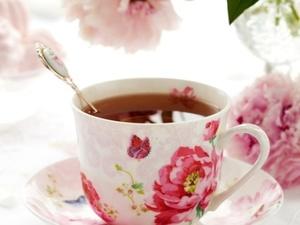 tasse à thé shabby
