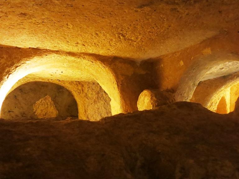 Catacombes Malte enceinte