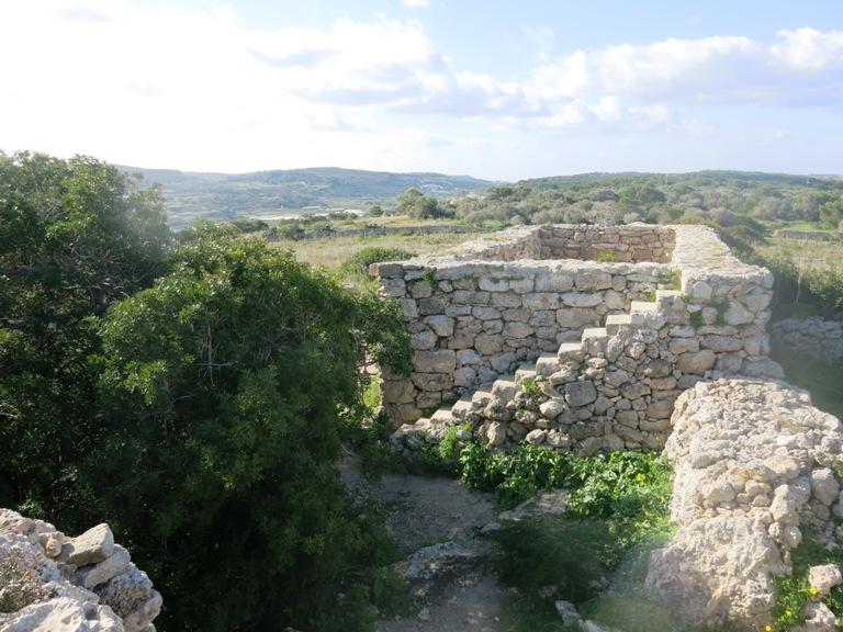 xemxija heritage trail Malte enceinte 3