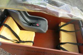 Coussins pour vélo cargo 17