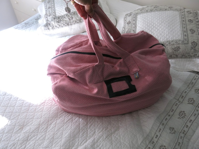 Sac week-end rose Aime comme Marie 9