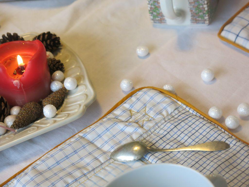 Set de table chemise d'homme Pimprelys 9