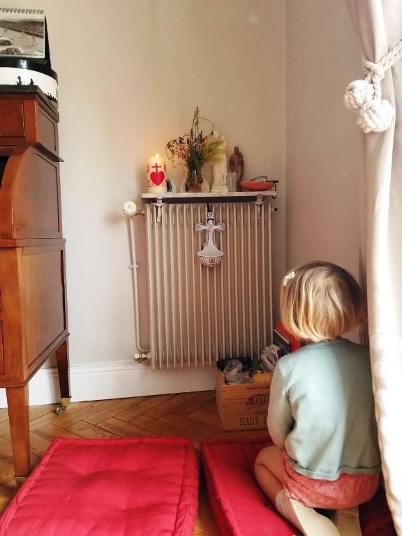bougie décorée avec du babybel